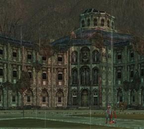 サイラグ廃墟の謎の建物