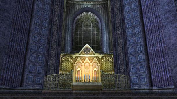 ドラゴ・エクリプス礼拝堂の祭壇