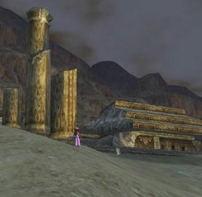セリュー砂漠の遺跡